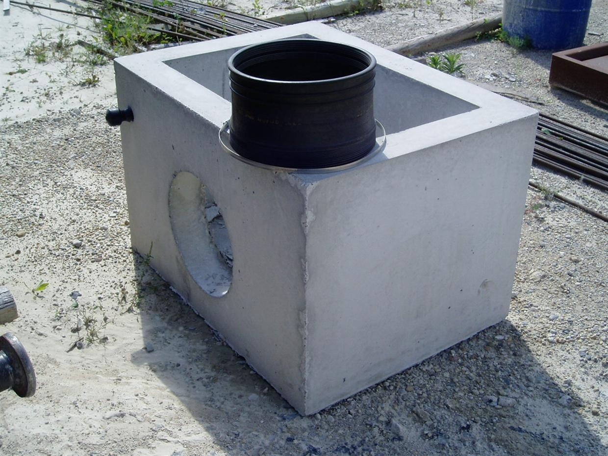 2' x 3' Curb Inlet Boxes