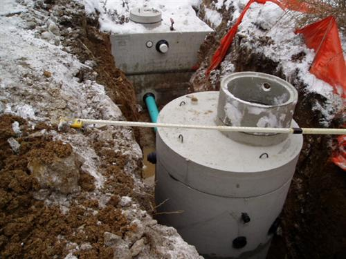 Rainwater Reclamation Storage Tank