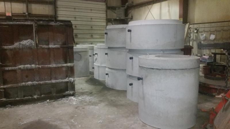 Precast Concrete Manhole Products Varying Sizes Amp Designs